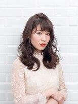 ムード 金沢文庫 hairdesign&clinic mu;dつやつや大きめウェーブロング