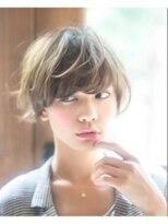 ジジ(Gigi)【Gigi】ラフで大人可愛い☆マッシュショート☆