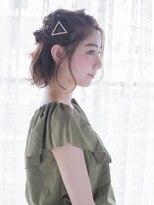 オジコ(ojiko)☆月曜日営業☆ojiko.大人可愛い四つ編みハーフアップ