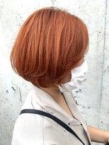 レーヴ(Reve)bob × orange color【レーヴ】