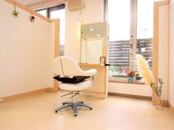 アドゥーヘア ヴィス(A do hair vis)の写真/【完全個室で衛生面も安心♪】マンツーマン施術&あなただけの上質空間で、周りを気にせずゆったり寛げる★