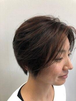 """ジュニア HAIR FACTORY Juniorの写真/髪を補正し頭皮環境を整える""""リトル・サイエンティスト""""の処理剤をふんだんに使用した施術が自慢です!"""