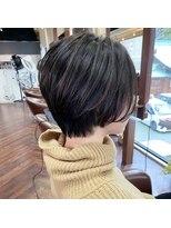 ビール 今泉店(BEER)【BEER 山崎雄太朗】自然な縮毛矯正でデザインする大人ショート
