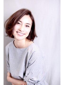ウル(HOULe)【30歳からの大人可愛いヘア】ニュアンスパーマボブ☆