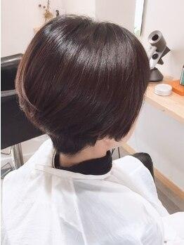 ムタヘアーサロン(MUTA hair salon)の写真/【カット+輝髪ザクロペインター¥11550】過酸化水素・ジアミン不使用なのでダメージレス&染める度ツヤがUP♪