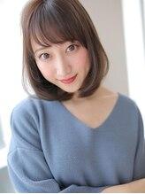 アグ ヘアー メレ 生桑店(Agu hair mele)光に透けるクリアカラーのピュアボブディ