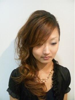 ヘア ドレッシング ステラ(Hair Dressing Stella)の写真/うるつやデジタルパーマでふんわり&しっかり形状記憶♪美髪デジパコースでウェーブと綺麗な髪を手に入れて!