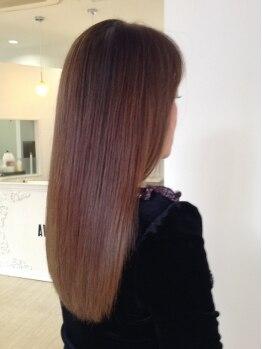 美容室 アヴァンセ(AVANCER)の写真/全メニューにトリートメント配合だから繰り返しても傷まない。通うほど髪が綺麗になるサロンです。