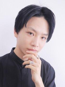 アルバム シンジュク(ALBUM SHINJUKU)ナチュラル韓流マッシュショートレイヤートランクスヘア_6188