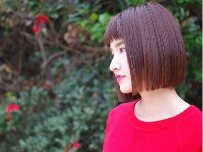 ヘルブラウ ヘアーデザイン(hellblau hair design)の写真