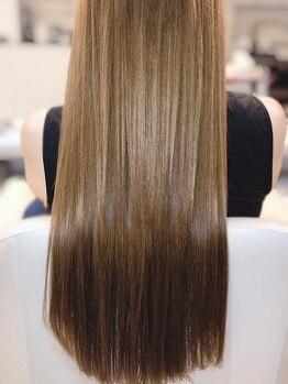 トレゾア(Tresor)の写真/【髪質改善で美髪になれる!】TV・雑誌で話題のトリートメントを豊富にご用意◎最新サイエンスアクアTRも◎
