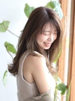 ヘアーガーデン シュシュ(hair garden chou chou)の写真/自分に似合うヘアスタイルと出会いたい!今までそう感じてきた方も、hair garden chou chouなら出会えます☆
