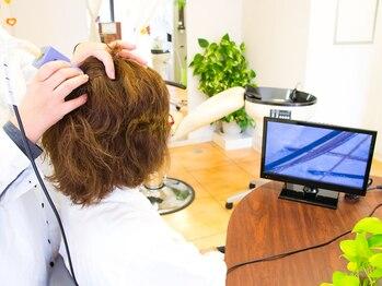 """ネクサス ロット 八千代台店(NEXUS-Lot)の写真/毛髪や頭皮のお悩みを改善したい方必見!!毛髪改善/頭皮改善メニューを是非""""NEXUS""""でお試しください♪"""