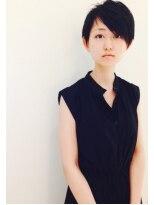 クラメール 黒崎コムシティ店(Kraemer)黒髪エッジネオ刈り上げショート
