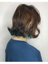 ソース ヘア アトリエ 京橋(Source hair atelier)【SOURCE】グリーンテイル