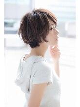 ユーフォリアギンザ(Euphoria GINZA)【Euphoria銀座】ふんわりショートボブ 担当:稲葉千尋