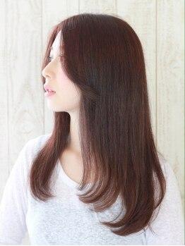 ヘアーメイク ミューズ 二条店(Hair make MUSE)の写真/【月曜日も営業】他では真似できない縮毛矯正☆どんな髪ダメージ,施術歴の方でも理想の仕上がりをお届け♪