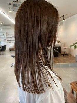 Oの写真/一人ひとりの髪に合わせたオーダーメイドの高濃度美容液システムトリートメントで理想のうるツヤ髪に♪