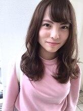 ヘアーデザイン シュシュ(hair design Chou Chou by Yone)☆chouchou☆うぶバング×王道のモテふわセミディ♪