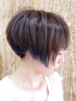 ZAZ(ザズ)の写真/【東三国/新大阪】毛髪診断で髪の特徴を分析◇くせを直すのではなく活かす技術でOnly oneのスタイルを☆