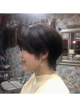 ロコマーケット 下北沢店(hair meke Deco.Tokyo)ショートマッシュ