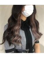 ビーヘアサロン(Beee hair salon)インナーカラーエクステ /安部郁美