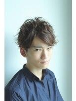ヘアーメイク リアン 新田辺店(Hair Make REAN)外ハネ無造作ショート