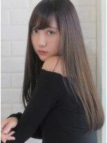 キース ヘアアンドメイク(kith. hair&make)恵比寿kith.本田×ナチュラルストレートロング