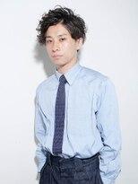 さわやか黒髪メンズパーマ【LUXBE 宝塚店】
