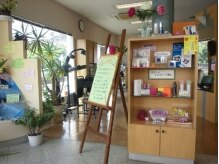 かおり美容室ルナ店の雰囲気(玄関)