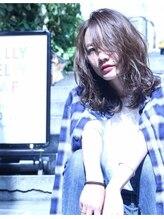 ヘアサロンエム 渋谷店(HAIR SALON M)パールアッシュ\ウェイビーセミディ