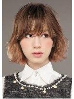 エフモード ヘアスタイル 下妻店(F-MODE hairstyle)カット+カラー