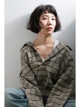 ラウレア(Laulea)[Laulea★女性限定サロン]コンパクトAラインくせ毛ボブ