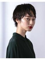オト(Oto)黒髪ナチュラルショート
