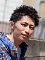 コンフィデンス メンズヘアー(confidence MEN'S HAIR)夏髪☆束感ショート confidence -MEN'S HAIR-