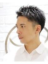 ヨシザワインク プレミアム 築地店(YOSHIZAWA Inc. PREMIUM)【ヨシザワ聖路加】刈り上げツーブロックビジネスアップバング