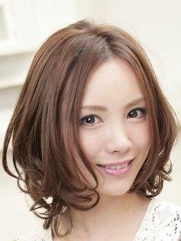 ポラリスヘアーアンドメイク 五反田(Polaris hair&make)の写真/いつもと違う自分に♪Styleに合わせたパーマの種類・かけ方をご提供!質感/時短/ダメージレスの3つを実現☆