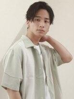 オーブ ヘアー トーキョー 銀座3号店(AUBE HAIR tokyo)【AUBE HAIR】かきあげヘア_七三オールバック