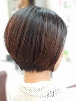 ヘアデザインロアール 元町店(Hair Design LOIRE)の写真/【カット(SB込)¥4950~】朝忙しくて髪のセットがうまくいかない方におすすめ*理想のスタイルが叶います!