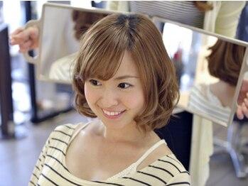"""美容室くるすの写真/髪に気を遣う大人女性必見!!西新井の大人女性、主婦の方に人気の【くるす】で""""自分に似合うスタイル""""を。"""