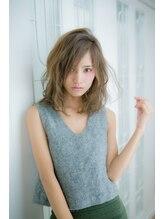 フィオレ(fiore)※クセ毛風ニュアンスパーマ&カラー※
