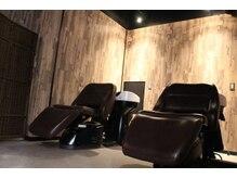 ヘアアトリエ ヴィフ(hair atelier Vif)の雰囲気(シャンプー台でのヘッドスパは極上の癒しに...)