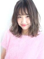 ヘアー ピープル(Hair People)シースルー×愛されパーマ