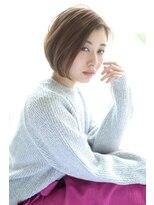 サンク ドリームプラザ店(CINQ)【CINQ】大柳 大人可愛い小顔ショートボブ