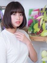 オーブ ヘアー フィオーレ 京都桂店(AUBE HAIR fiore)カジュアル♪重めボブ