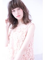 shiomi H 厚め前髪ウェーブ【アッシュパールカラー】