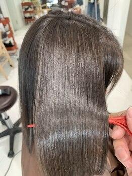 リラックスヘアーサロン ワッカ(Relax Hair Salon WAKKA)の写真/【ダメージ毛にお悩みの方へ☆】髪や頭皮の細胞を活性化させダメージ×エイジングケアでウル艶美髪に♪