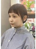 パム 恵比寿(PAM.)オン眉shortbob