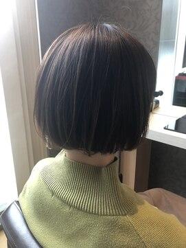 ヘアーアンドメイク ピース(HAIR&MAKE peace)ナチュラルキレイめボブスタイル