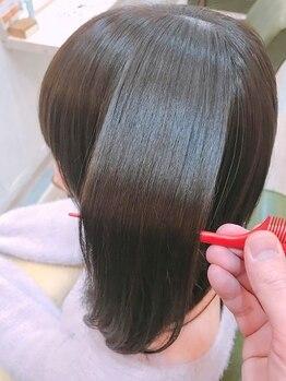 サロン ド クロック(salon de CLOCK)の写真/世界で愛されるヘアケアブランドグローバルミルボン★世界基準の毛髪理論に基づいて創られたトリートメント